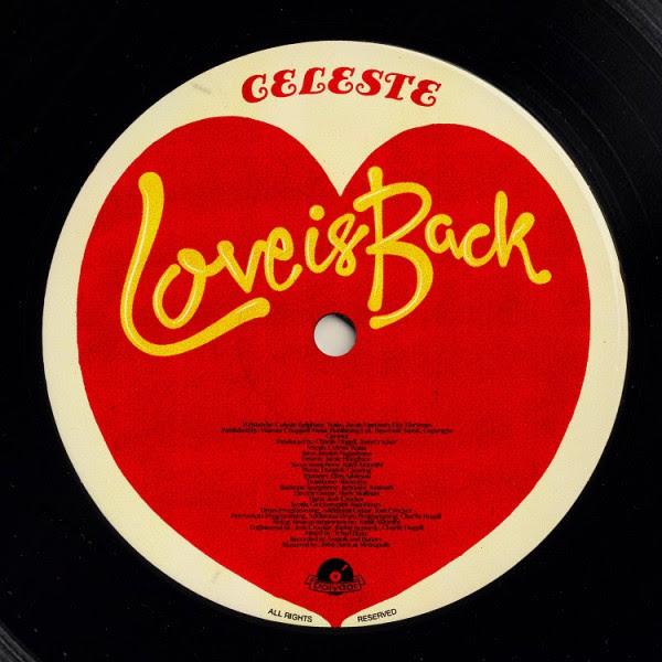 "CELESTE – ""Love is back"""
